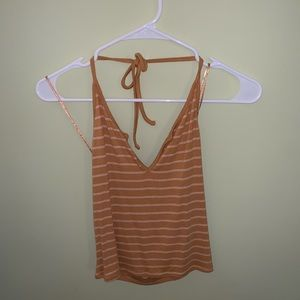 Striped halter top from Urban Outfitters